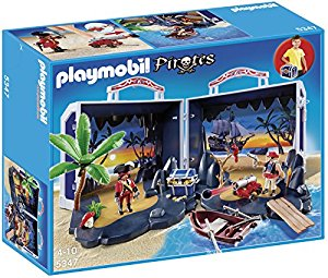 Playmobil A1502642 Jeu De Construction Valise Ile Au Trésor Des