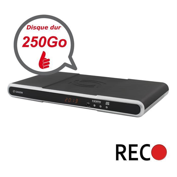 Recepteur TNT HD / Double Tuner / DD 250Go Achat / Vente récepteur