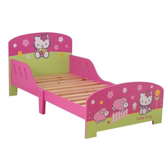 Lit enfants Hello Kitty Achat / Vente lit complet Lit enfants Hello