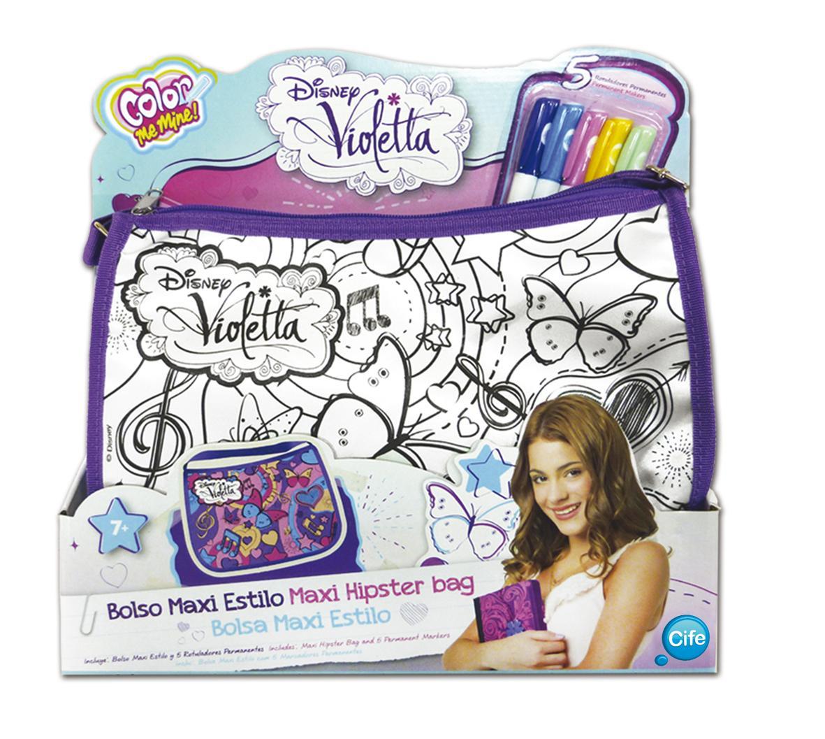Smoby 86103 Loisirs Créatifs Sac Tendance Xl Violetta Color