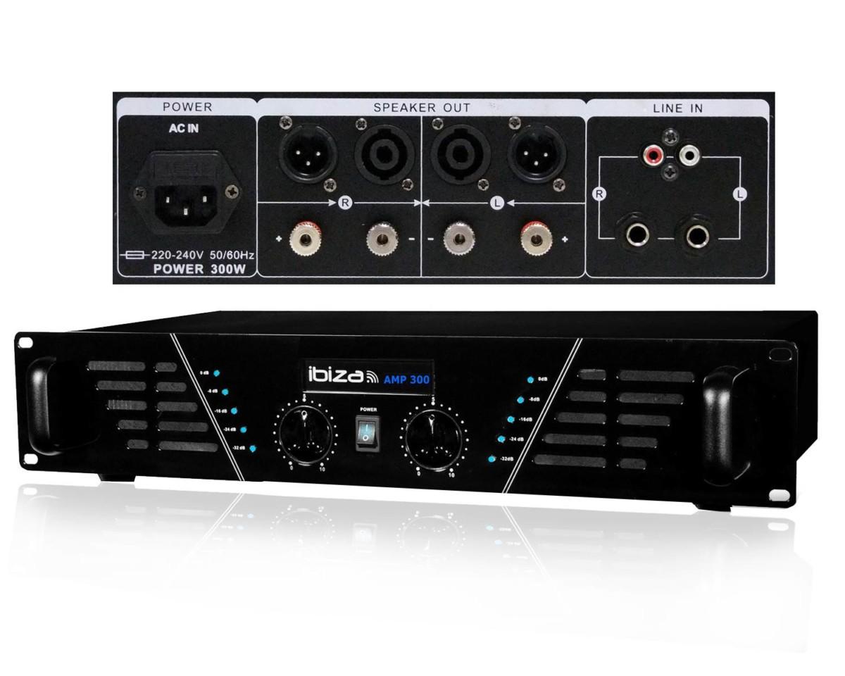 Pack Sono DJ 550 Amplificateur 2 x 240W + HP