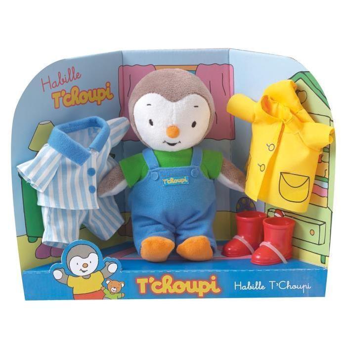 TCHOUPI Coffret T'Choupi s'habille 21cm Achat / Vente peluche