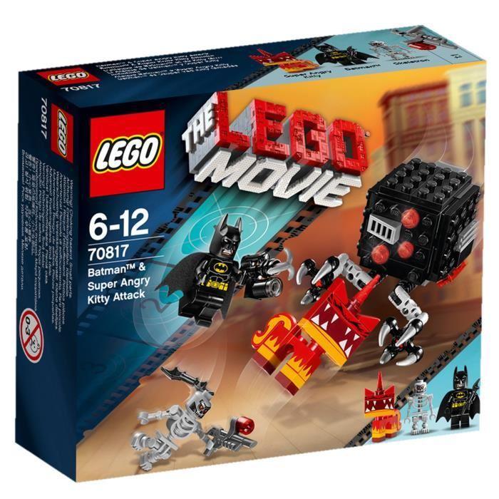 LEGO Movie 70817 Attaque Batman et Kitty Grrrr Achat / Vente