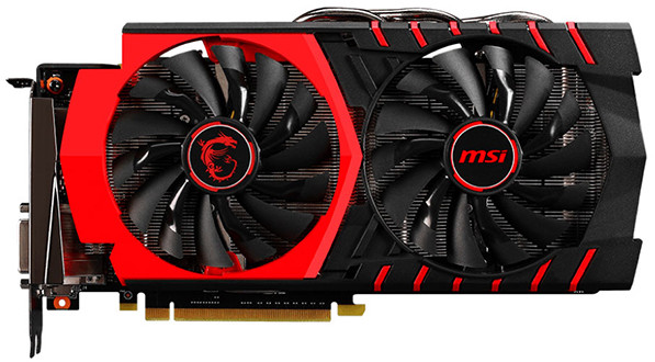 MSI Carte graphique Nvidia GTX 960 GAMING 4G GDDR5 DL DVI I/HDMI MSI