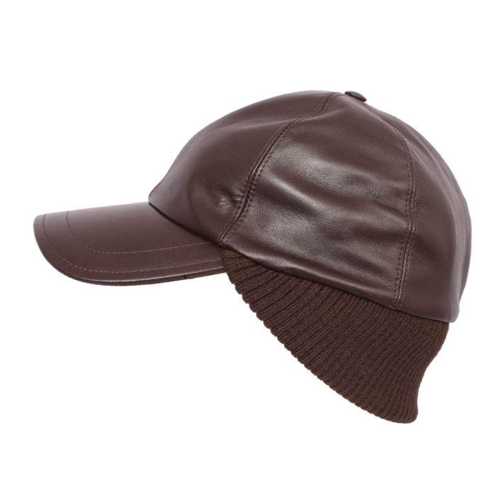 Casquette baseball cuir homme Classic Baseball Ca 100 % cuir Fait en