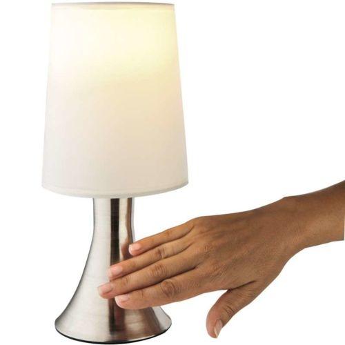 Provence Outillage Lampe de chevet tactile Blanc pas cher Achat