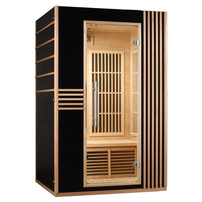 Sauna infrarouge 2 places Saga Lord Achat / Vente kit sauna Sauna