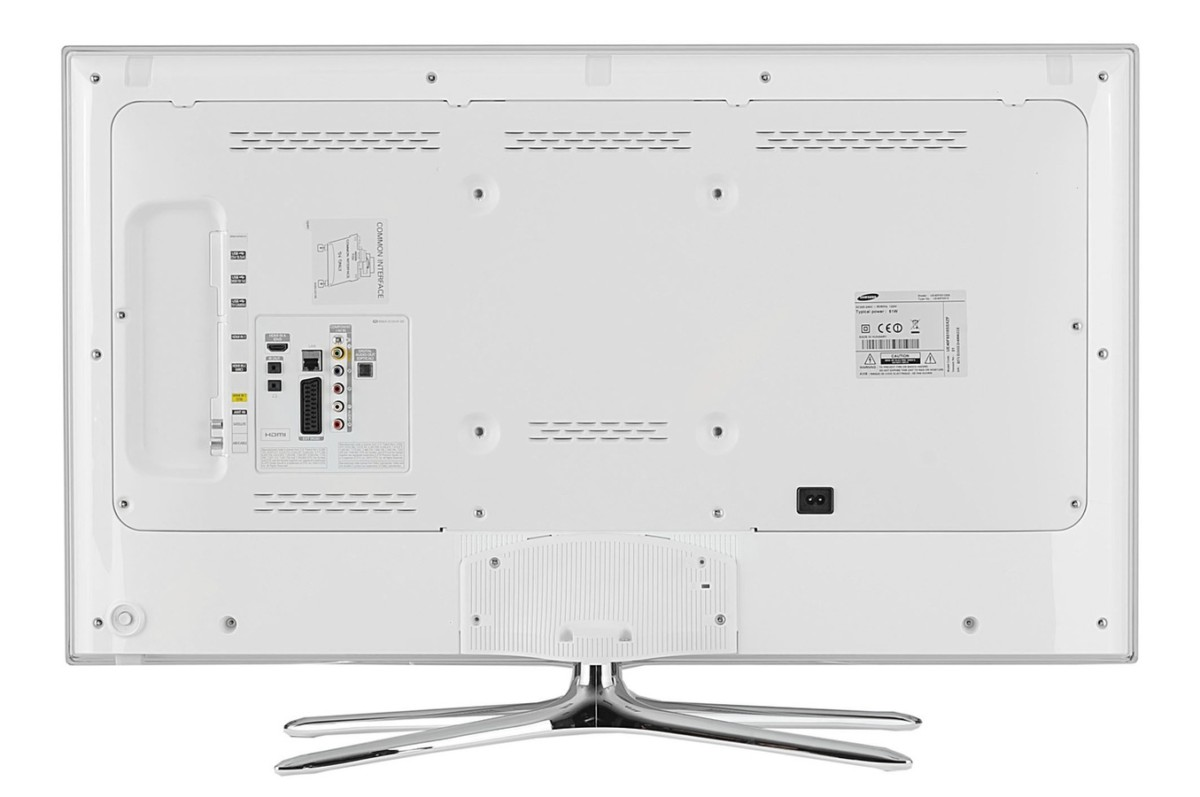 TV LED Samsung UE40F6510 LED 3D BLANC 40F6510 (3728188) |
