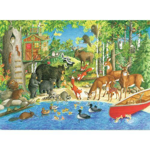 Ravensburger Puzzle 200 pièces Xxl : Les amis de la forêt pas