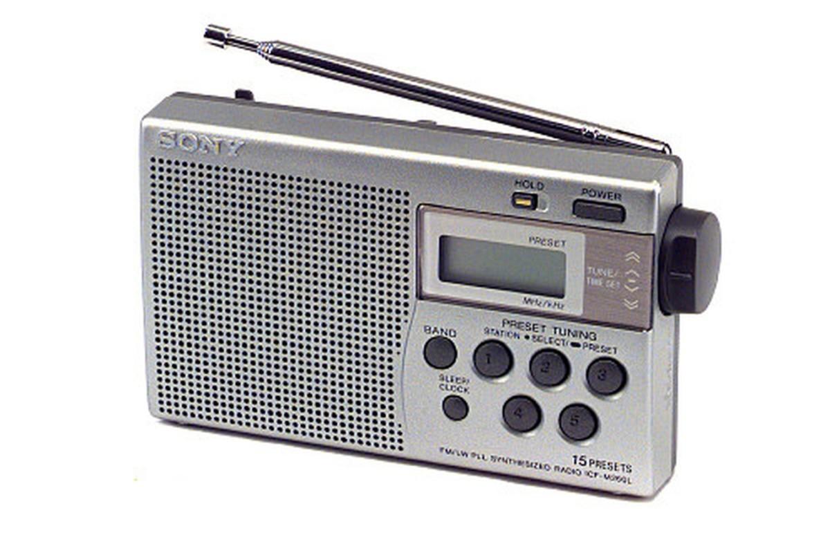 Radio Sony ICF M260LS ARGENT (0437964) |