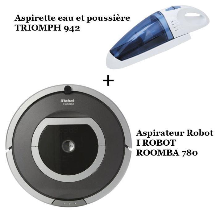 ROOMBA 780 + ETF 942 Achat / Vente aspirateur robot