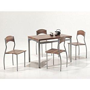 Ensemble table de cuisine et chaises ROMY: Cuisine & Maison