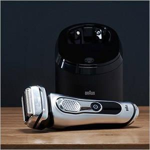 Rasoir électrique à grille Braun Séries 9 9090cc avec station Clean