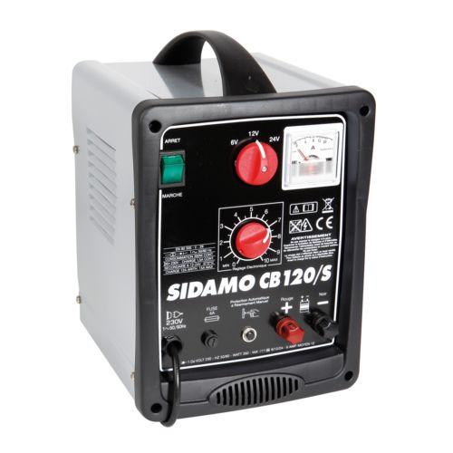 SIDAMO Chargeur de batterie CB120 120 Ah 350W 20303016 pas cher