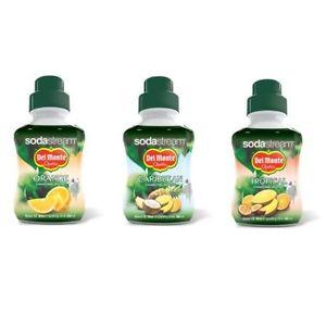 DEL Monte JUS DE Fruits Concentré Sodastream Saveur Boisson Sirop 1