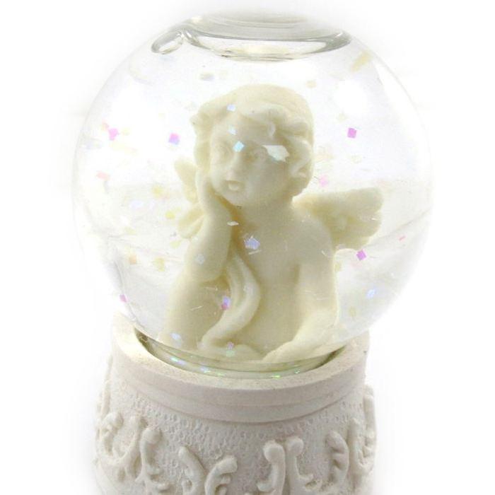 Boule de neige «Petit Ange» Achat / Vente statue statuette