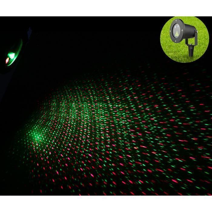 TECHSTICK® LED lumières laser d'extérieur Lumières de Noël
