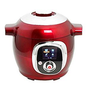 Moulinex Multicuiseur intelligent Cookéo Rouge CE7015 1200 W
