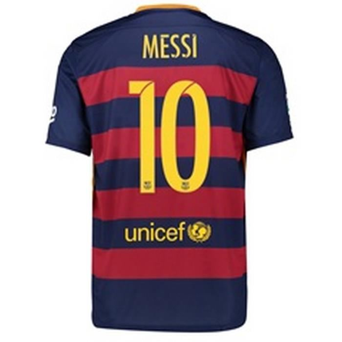 Maillot enfant Nike Fc Barcelone Saison 2015/2016 Flocage Officiel