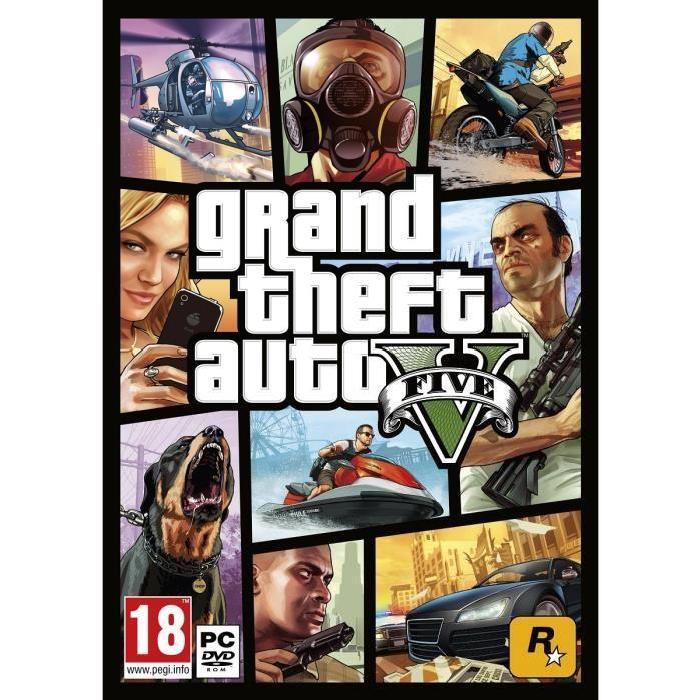 GTA V Jeu PC Achat / Vente jeu pc GTA V Jeu PC