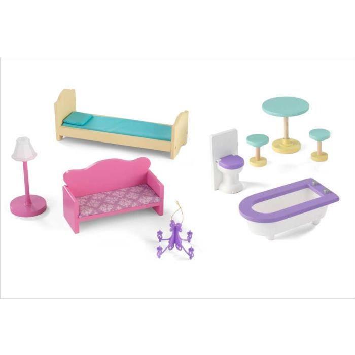 meubles kidkraft pour poupees mannequins