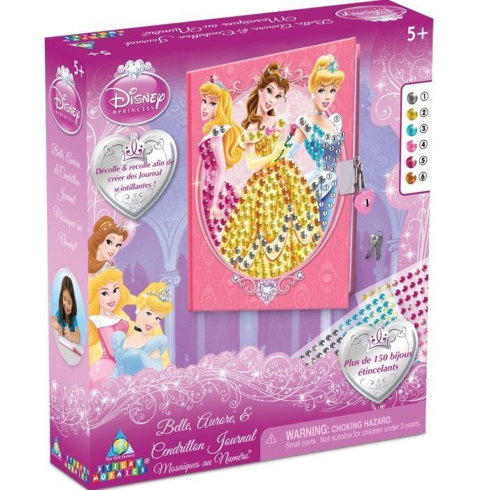 DISNEY PRINCESSES Journal Intime Princess Mosaïque Achat / Vente