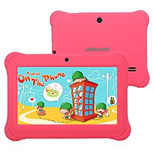 Alldaymall tablette tactile enfant 7″, Quad Core, Android, appareil