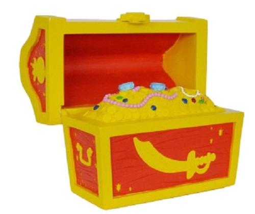 Tirelire Disney Jake et les pirates du Pays imaginaire 14 cm Coffre au