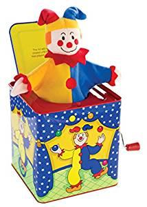 Schylling 4920288 Farce et Attrape Jester in the Box