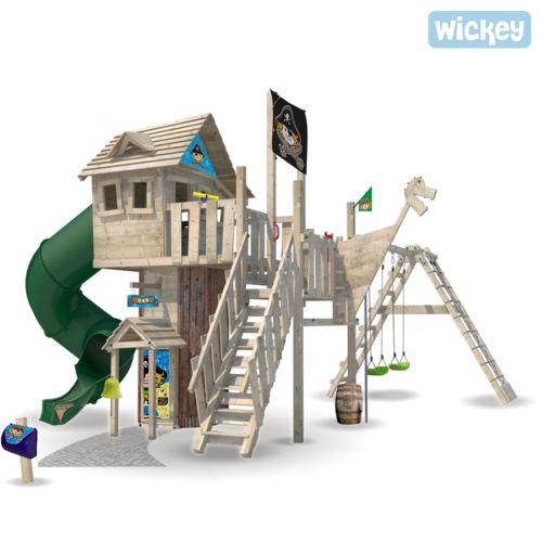 Wickey Aire de jeux Neverland pas cher Achat / Vente Portique et