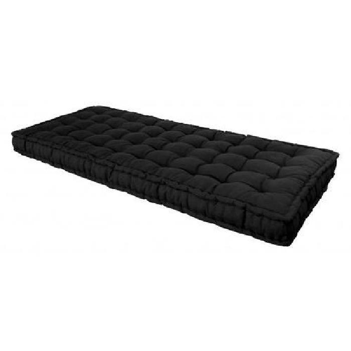 matelas futon noir 90 x 190 cm Achat / Vente matelas Soldes* d