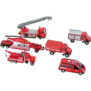 Camion de pompier en metal Achat / Vente jeux et jouets pas chers