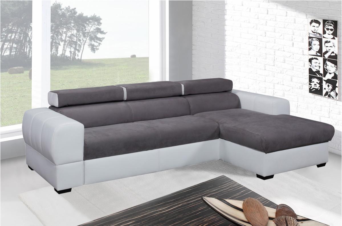 canape angle convertible microfibre topiwall. Black Bedroom Furniture Sets. Home Design Ideas