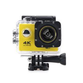 Caméra Sport Action F60B Wifi 4K Jaune Générique