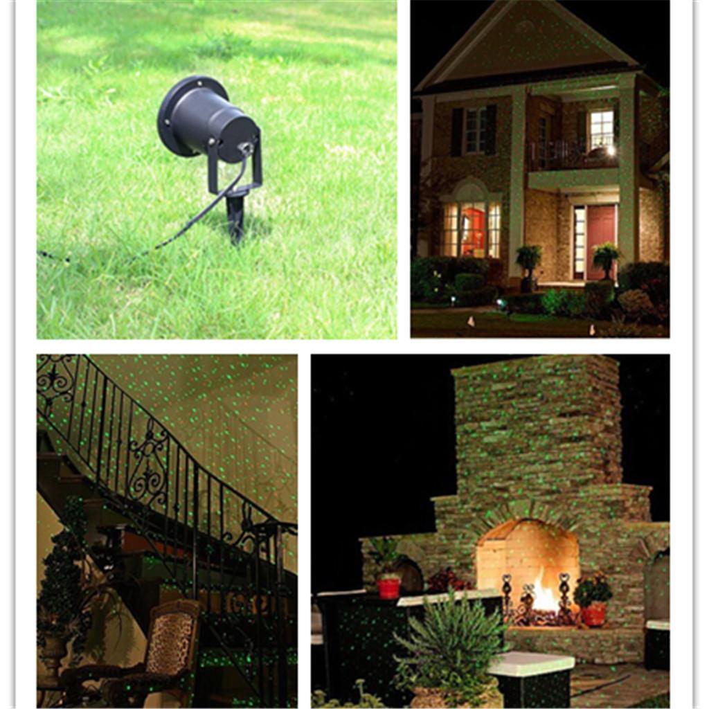 Firefly Extérieure Rouge et Vert Projecteur Lumière IP68 Jardin