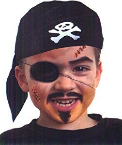 maquillage pirate enfant Taille Unique: Jeux et Jouets