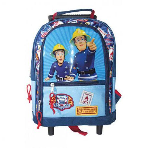Sam le pompier Trolley à roulettes Maternelle 30cm pas cher Achat