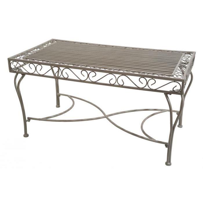 fer forgé «Sissi» Table basse de jardin fer forgé «Sissi&nbs ...