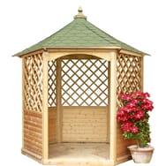 Livraison Incluse Kiosque de jardin Albertinia / 5 m² Abri hexagonal