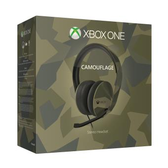 Casque Stéréo Microsoft Xbox One Collector Accessoire Console de