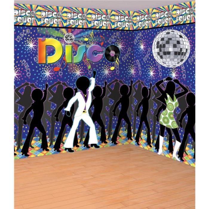 Kit de Décoration Disco Années 70 Achat / Vente kit de decoration