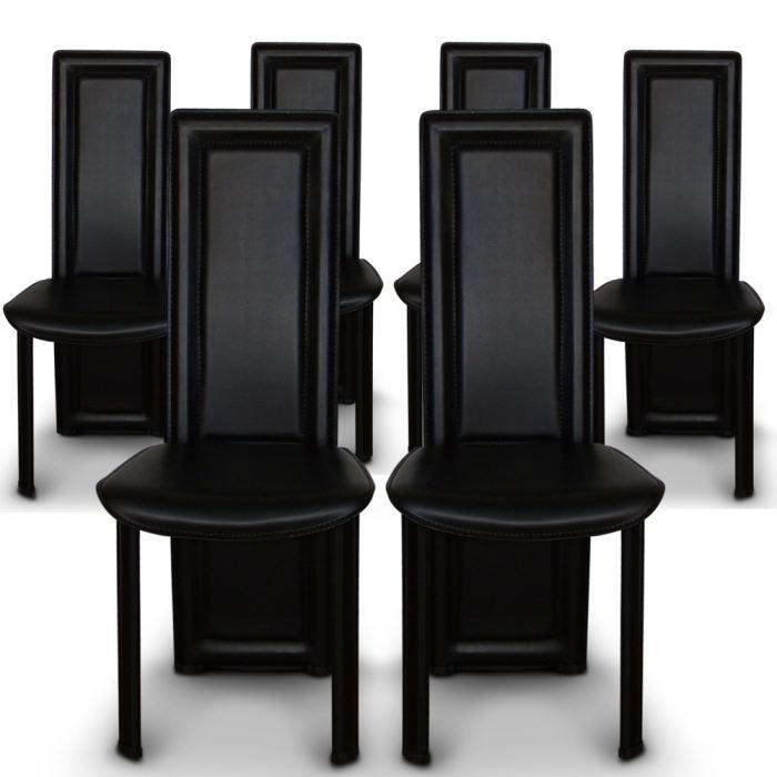 chaise salle a manger lot de 6 - topiwall