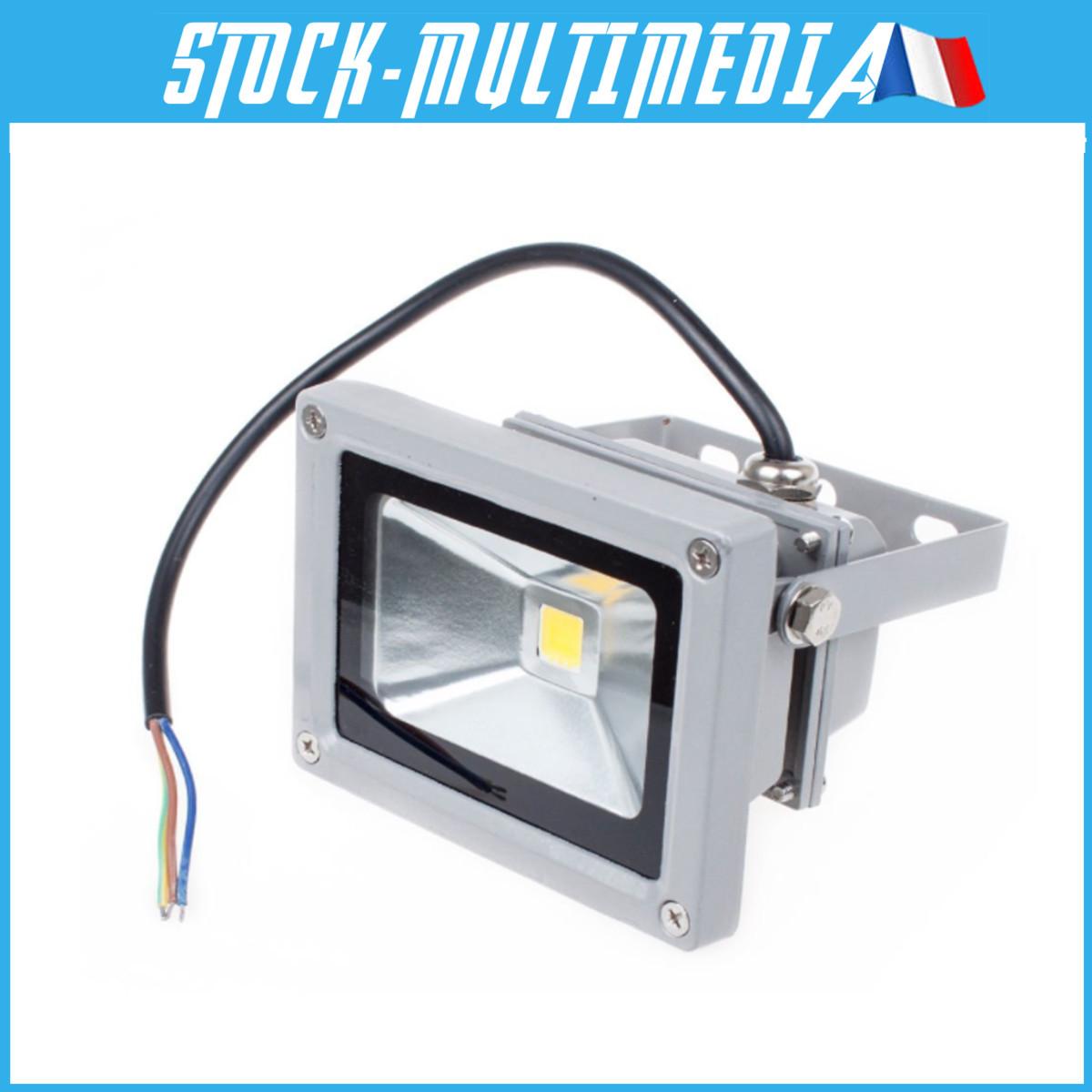 Projecteur LED Spot Extérieur détecteur Eclairage IP65 10W 20W 30W