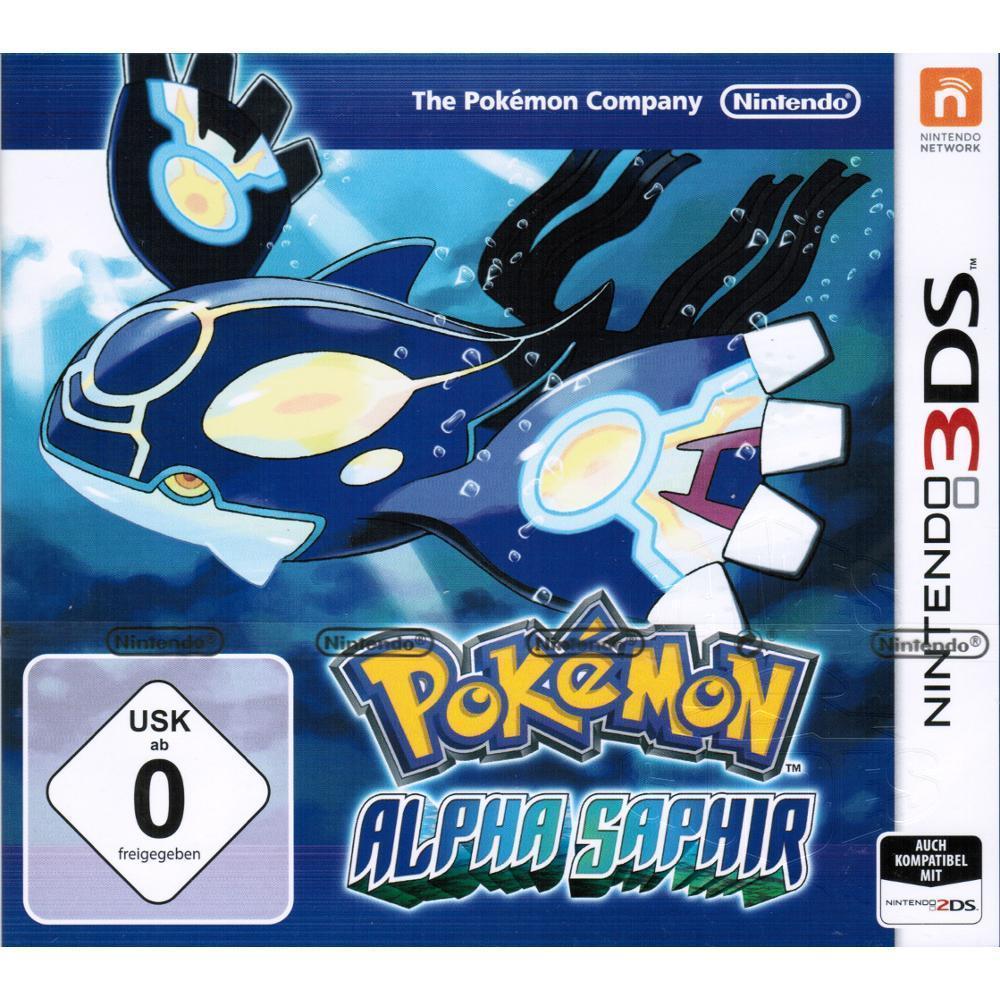 Pokemon Alpha Saphir komplett in Deutsch für Nintendo 3DS (XL) 2DS