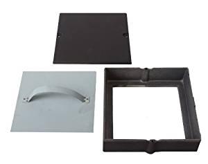 de porte en fonte de cheminée Conduits d'Inspection avec trappe Clean