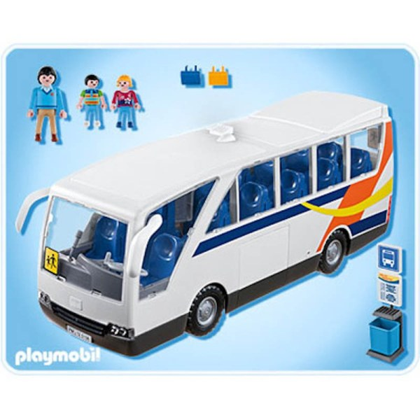 sur NEU PLAYMOBIL CITY LIFE 5106 Schulbus LARGE SCHOOL COACH WITH BUS