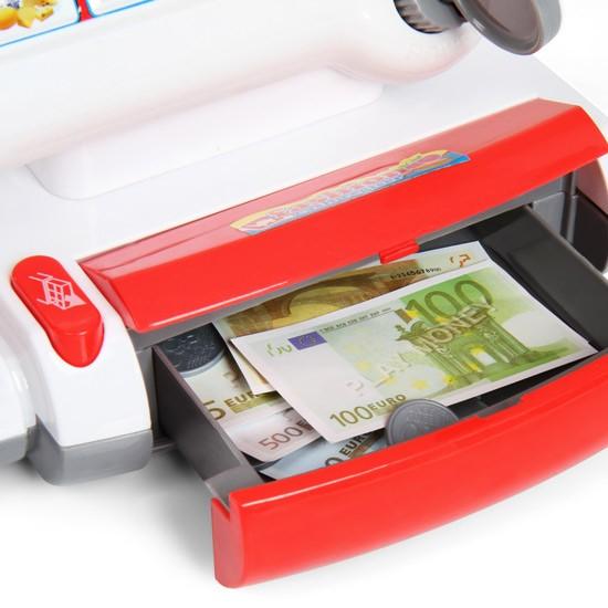 Jouet caisse enregistreuse avec scanner jeux de rôles enfants