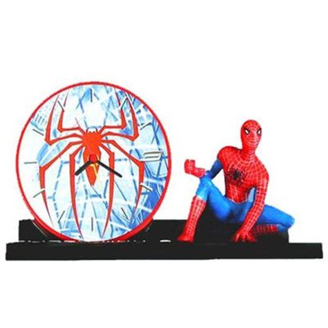 Réveil matin spiderman couleur unique Sud Cargo