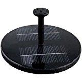 Fontaine solaire Pompe à eau solaire pour bassin ou jardin