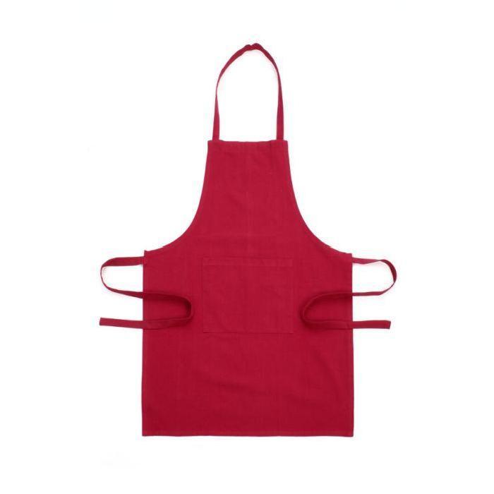TABLIER Coloris framboise Achat / Vente tablier de cuisine